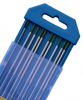 WP Pure Tungsten Electrode-Tig Welding rods green color