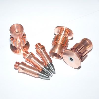 Tungsten-copper Plasma Spray Nozzles And Electrodes
